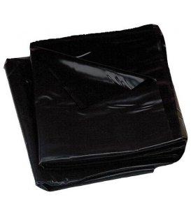 Vinyl/latex lakan, extra mjukt - svart