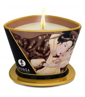Shunga Massageljus - Chocolate