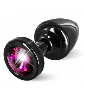 Diogol - Anni Butt Plug, Black & Pink